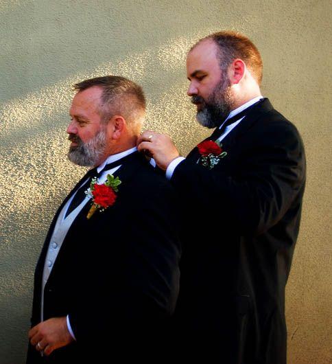 Sexy bear wedding! | Image Banque | Pinterest | Bears, Gay ...