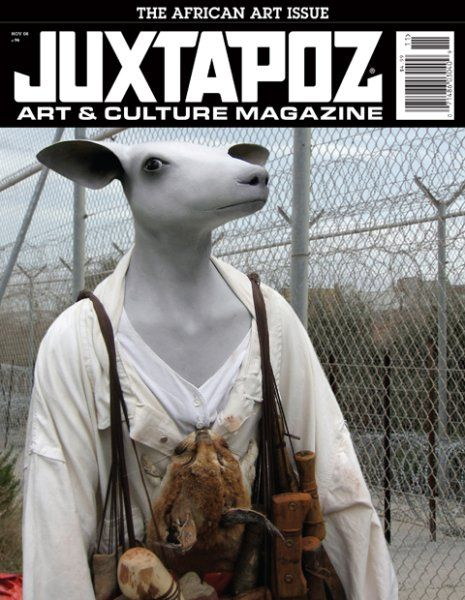 """""""Juxtapoz will be headed to NYC this week for all the festivities around Frieze and the surrounding art fairs. But one thing we will definitely be checking out is Jane Alexander, cover artist of our Contemporary African Art survey in November 2008, and her installation work with Museum for African Art that is residing at The Cathedral of Saint John the Divine on Amsterdam Avenue."""""""