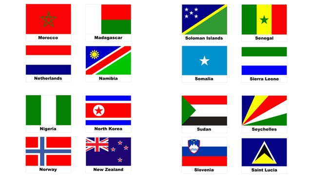 PaperZip Teaching Resources » World Flags