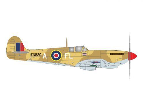 Gemini Aces Vickers Supermarine Spitfire Mk. IX (EN520) No. 81 Squadron RAF Sqaudron Leader Colin Falkland Grey: Tunisia 1943 modelcorner.co.uk