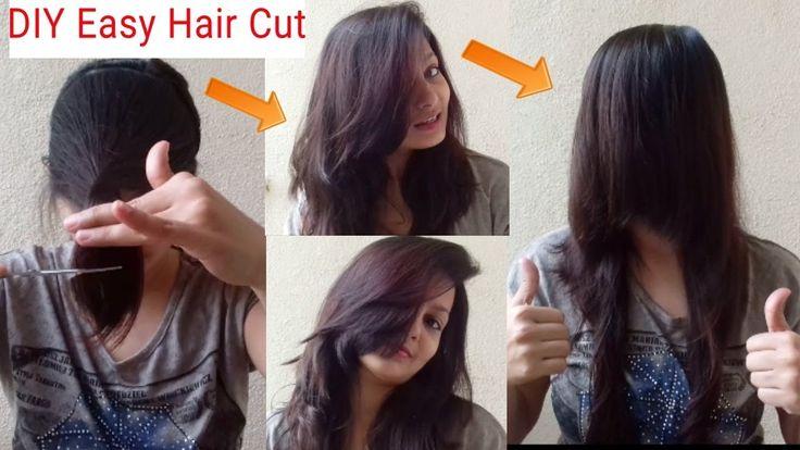 DIY Face Framing Hair Cut|Hair Cut At Home|AlwaysPrettyUseful By PC