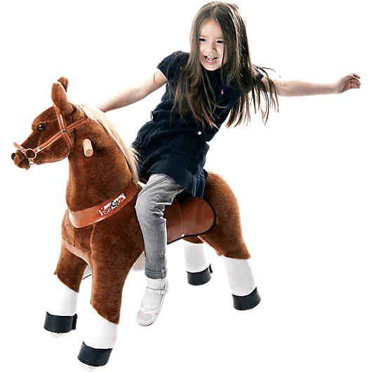 Das dynamische Pferd Amadeus von MyPony, ist der stolze Haflinger unter den Ponycycles!<br /> <br /> Dieses Pony ist ein sportliches Spielzeug von dem jedes Kind begeistert sein wird und gleichzeitig seinen ganzen Bewegungsapparat trainiert. Spiel, Spaß und Sport werden hier perfekt vereint.<br /> <br /> Dies funktioniert ganz ohne fremde Energie! Keine Batterien, kein Aufladen, kein Lärm - einfach draufsetzen und losreiten: Durch das Gewicht des Ki...