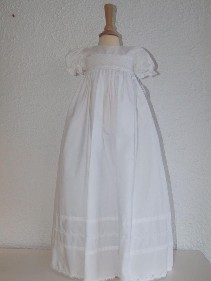 Dåpskjole til jente og gutt.