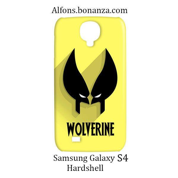 Wolverine Superhero Samsung Galaxy S4 S IV Hardshell Case