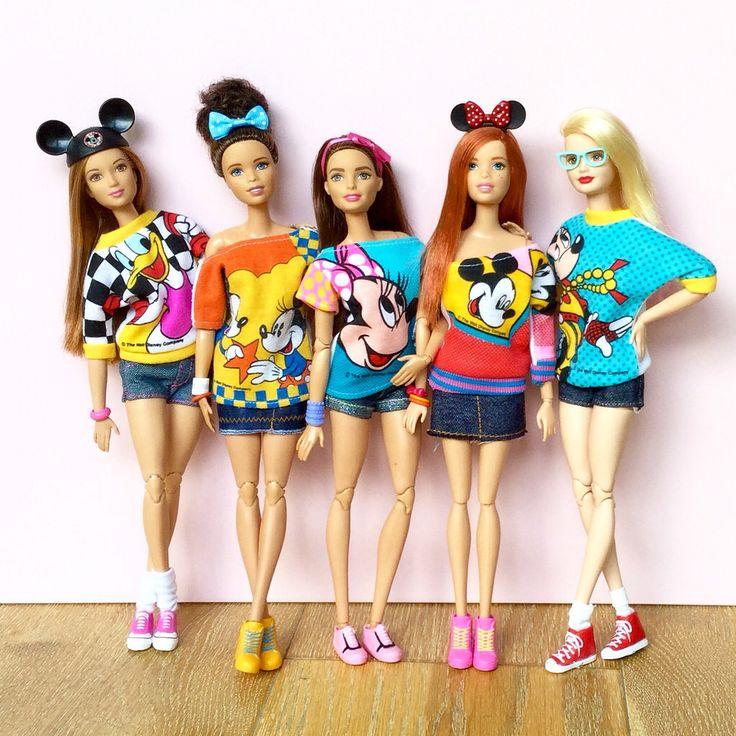 """Disney Loving Barbie Girls"" by Emilypm3 