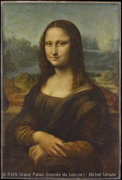 *ルーブル美術館の見所* フランチェスコ・デル・ジョコンドの妻、リーザ・ゲラルディーニの肖像『モナ・リザ』