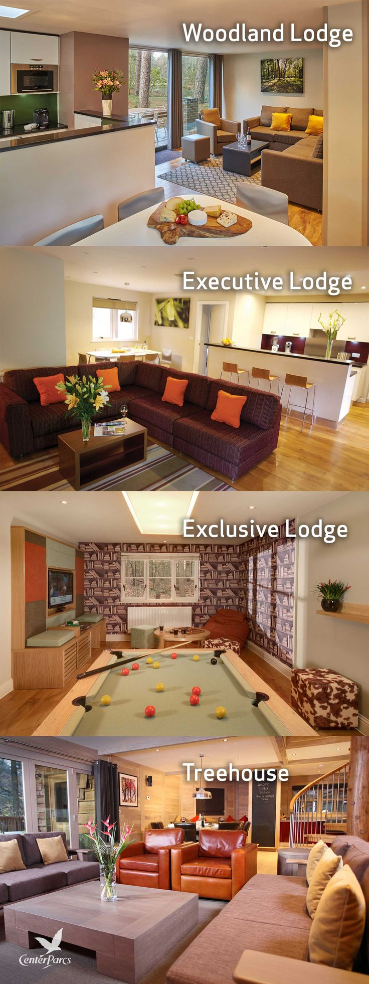 Nature is at the heart of everything we do. Our Lodges are nestled within woodland landscapes, designed to bring you closer to nature. We offer accommodation that will give you a sense of space, privacy and seclusion, ideal for the perfect lodge holiday.