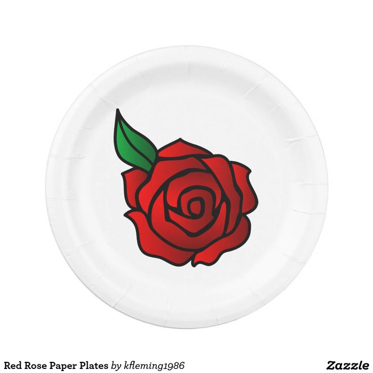 Red Rose Paper Plates  sc 1 st  Pinterest & 80 best Paper Plates images on Pinterest | Paper plates Tartan and ...