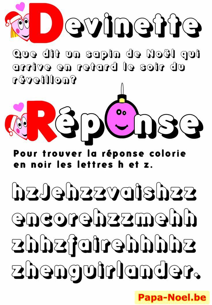 Jeux de Noël à imprimer – Charades, jeux, blagues,devinettes. Coloriages pour enfants.