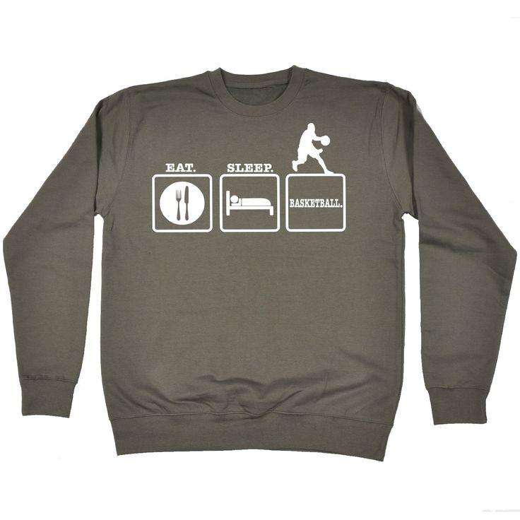 Kaufen Sie 123t Eat Sleep Basketball lustiges Sweatshirt bei 123t T-Shirts & Hoodies für nur € 16.97   – Christmas j