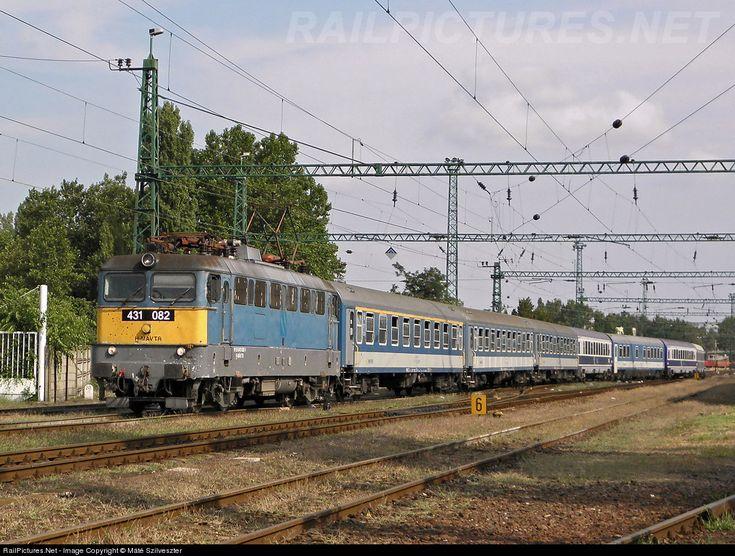 RailPictures.Net Photo: 082 Hungarian State Railways (MÁV) 431 / ex-V43 at Békéscsaba, Hungary by Máté Szilveszter