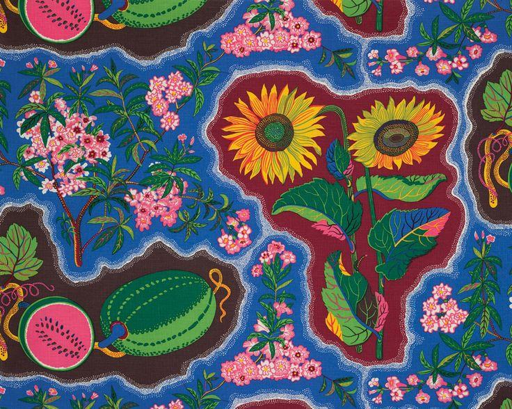 Dixieland Textile for Svenskt Tenn, 1943-1944 design by Josef Frank