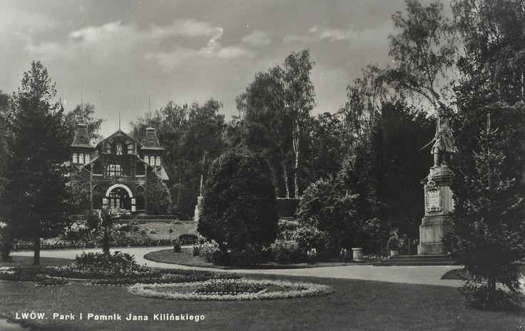 Park Stryjski (Park im. Jana Kilińskiego, Стрийський парк), Lwów - 1925 rok, stare zdjęcia