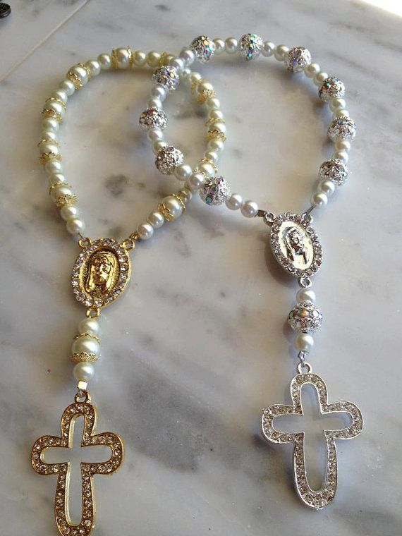 Communion Favors  Hand Rosary by JJJEWELS619 on Etsy, $5.00