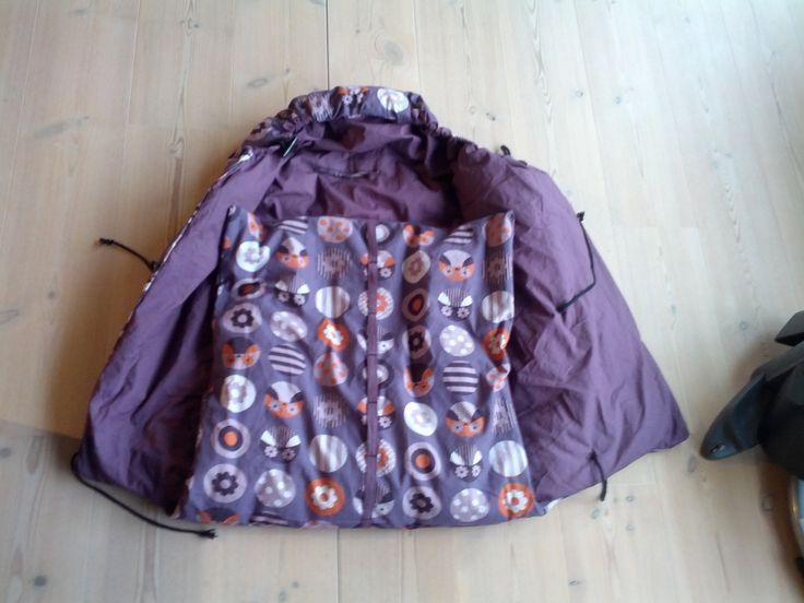 DIY new cover for baby sleepingbag / DIY nyt betræk til drømmepose / Voksi