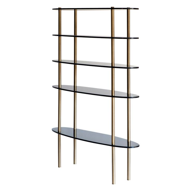 Holiday Bookcase   Contemporary, Transitional, Glass, Metal, Bookcases  tagere by Brett Design