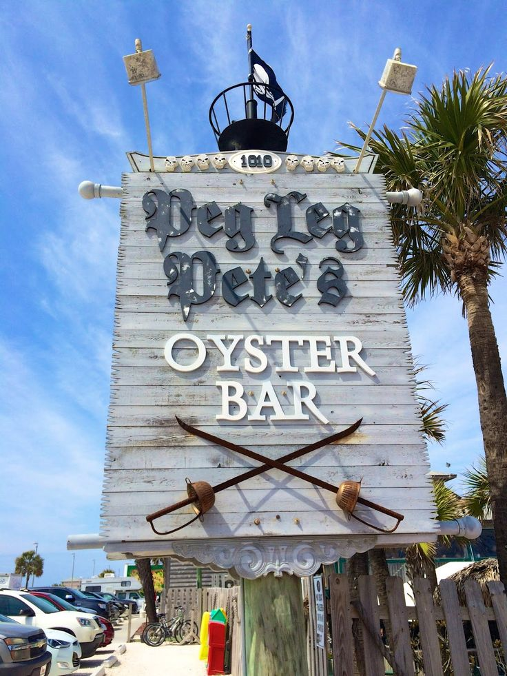 Peg Leg Pete's - walking distance from our condo.