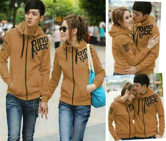 Couple qing brown, hrg 115rb@sepsg, bhn babyterri, ld 102 pj 65, cwo 108 pj 67, ada kantong+hoodie, resleting hdp, fit L