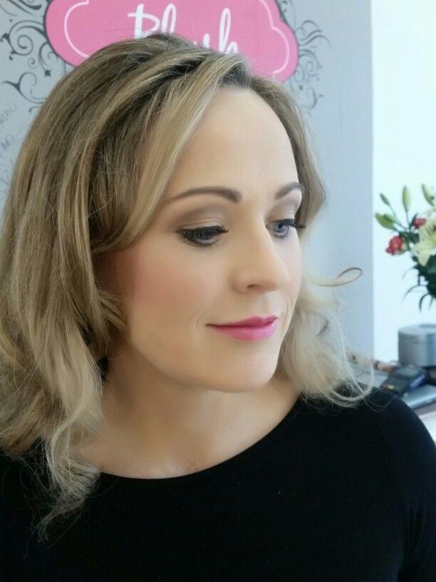 Blush Makeup & Nails