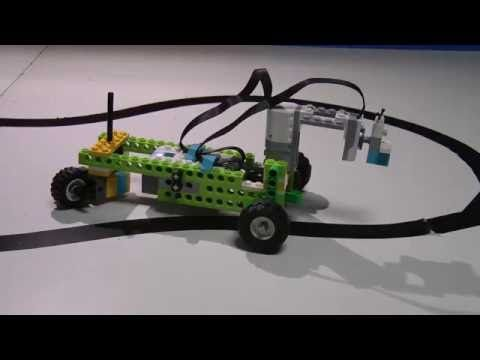 LEGO WeDO 2.0 Line Follower - YouTube