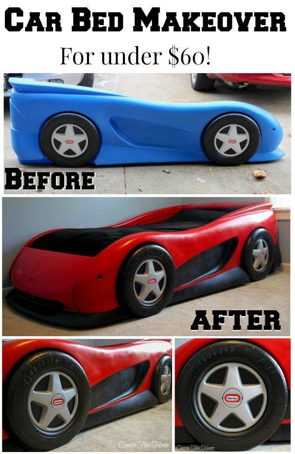 car bed makeover for under 60