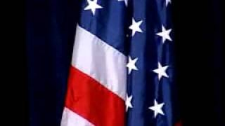 John Ashcroft singing 'Let the Eagle Soar.'  http://youtu.be/woLQI8X2R6Y