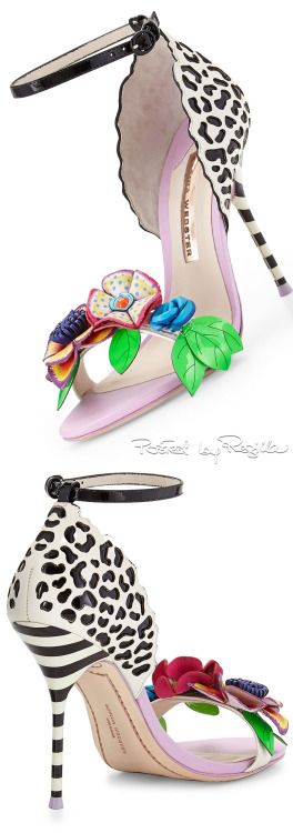 Sophia Webster ~ Lilico Floral Jungle Sandal, 2015