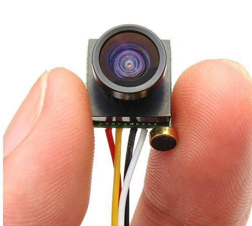 600TVL 1/4 1.8mm FPV 170 Stopniowym Polu Widzenia Kamery CMOS PAL/NTSC 3.7-5 V + numer śledzenia