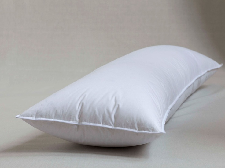 Our Most Comfortable Down Body Pillow For Expecting Moms