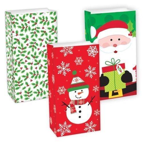 Christmas Santa Pants Elf Candy Gift Bag Sweet Sack Stocking Filler Office Party #Fancydressvip