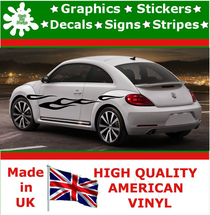 "10"" High Car Side Stripes Graphic Decal Vinyl Stickers Van Auto Rally Race F3_12"