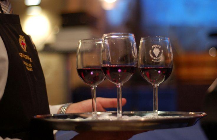 Wine whisperers sharing wine talk.