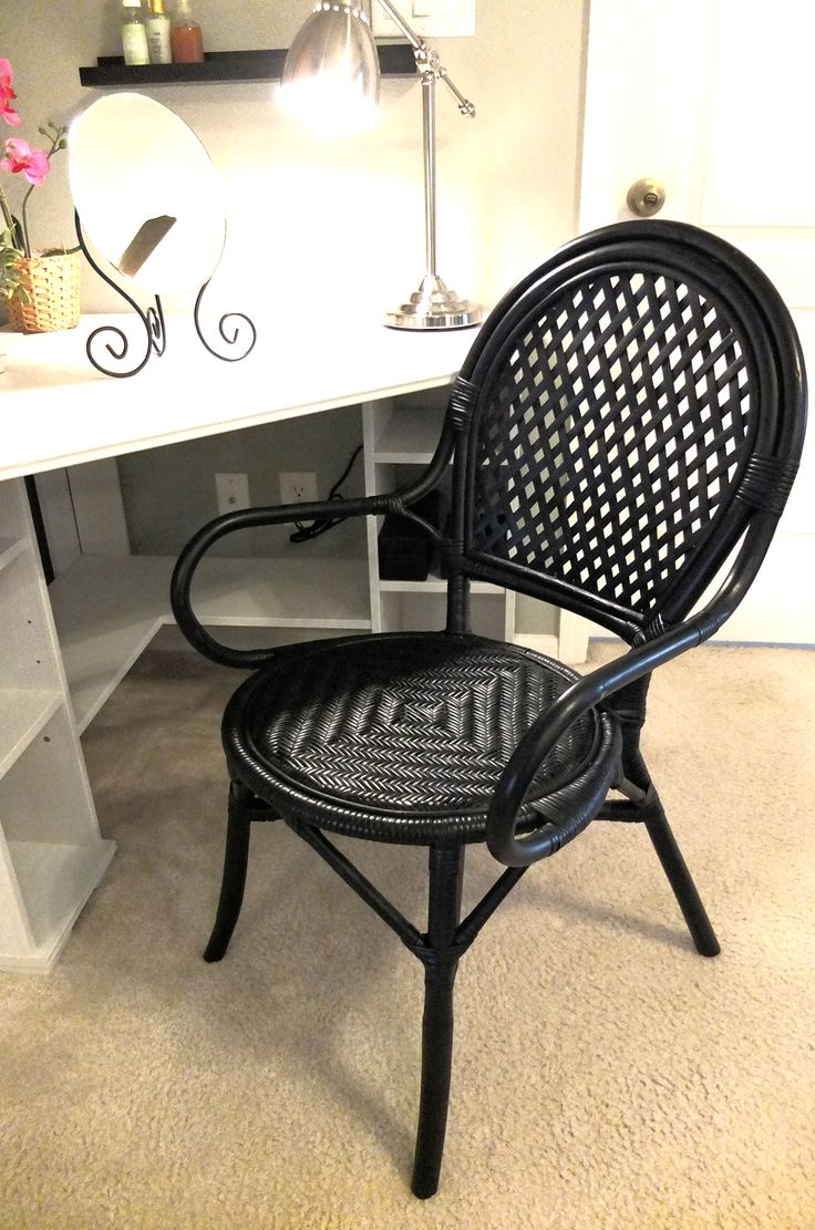 Basket chair ikea - To Fit A Classic Vintage Style The Lmsta Rattan Chair Is Perfect For A