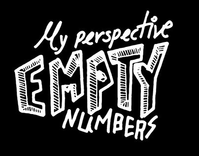 """Check out new work on my @Behance portfolio: """"Empty numbers"""" http://be.net/gallery/37232471/Empty-numbers"""