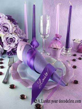 Dans un style plus épuré, le chemin de table parme. #deco #mariage http://www.decodefete.com/10m-chemin-table-uni-parme-p-562.html