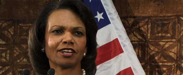 RICE SAYS IT'S APPALLING AND INSULTING THE WAY RACE CARD WAS PLAYED AGAINST REPUBLICANS -- Condoleezza Rice says America is the best place in the world to be a minority and that it's appalling and insulting for the Democratic Party to call Republicans racist just because they disagree on issues...