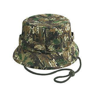 Cotton Camo Bucket Hat