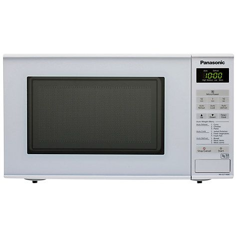 Buy Panasonic NN-E271W Microwave Oven, White Online at johnlewis.com