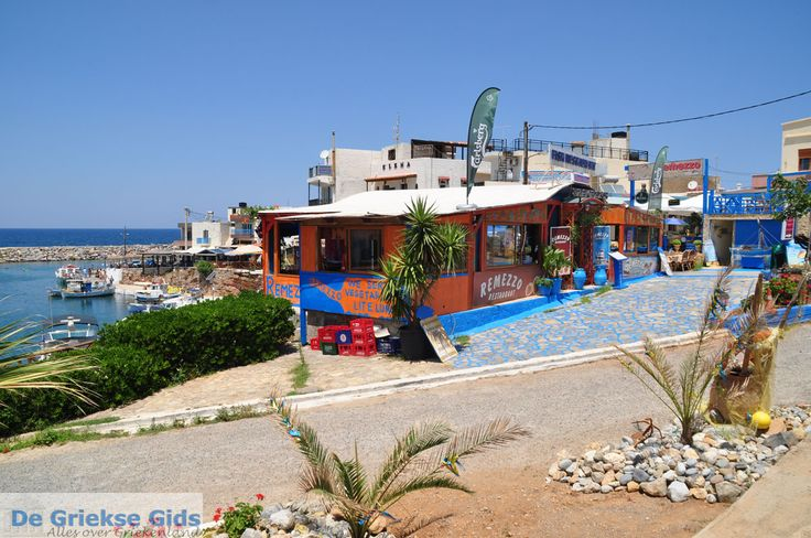 Remezzo Fish Restaurant, Sissi harbour, Crete, Greece.
