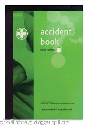 #Accident /injury #report book a4 #comply with data protection act 1998 ,  View more on the LINK: 	http://www.zeppy.io/product/gb/2/191063928396/