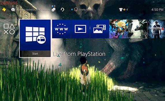Update do PS4 com Boost Mode para o PS4 Pro e suporte para HDD externo já está disponível