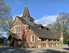 St Andrew's Church, Frimley Green, England
