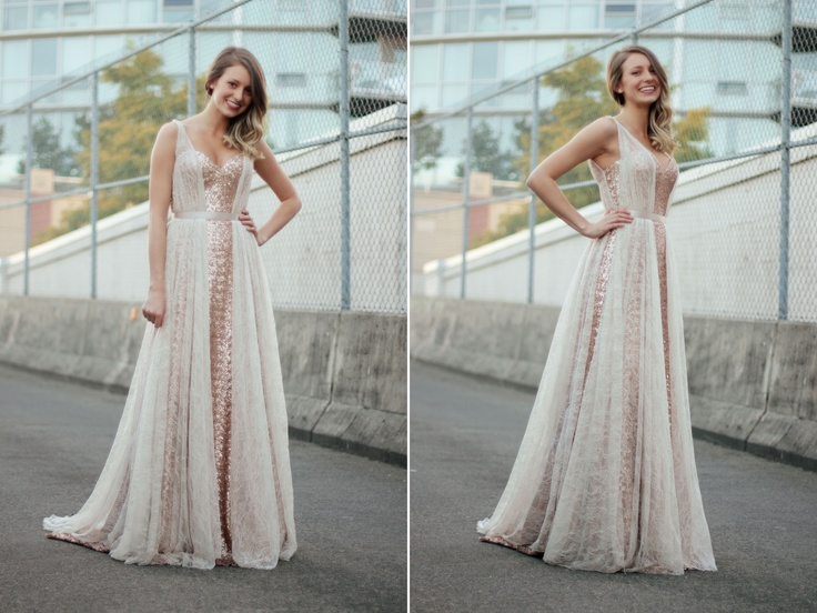 Ellebay: Lace & Sequins Dress