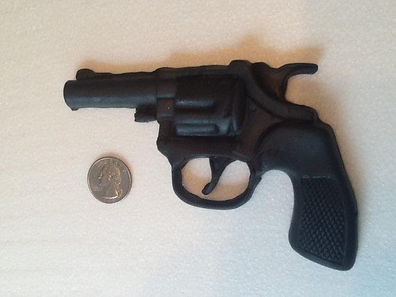 Fondant Gun for Birthday Cowboy Cake or Childs by GiftsbyLaney, $8.95