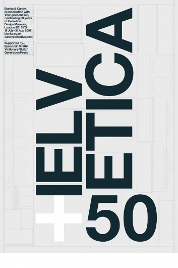 —Helvetica 50 by BuildPicture-Black Posters, Typography Posters, Posters Design, Helvetica Posters, Graphics Design, 50 Years, Design Elements, Helvetica50, Helvetica 50