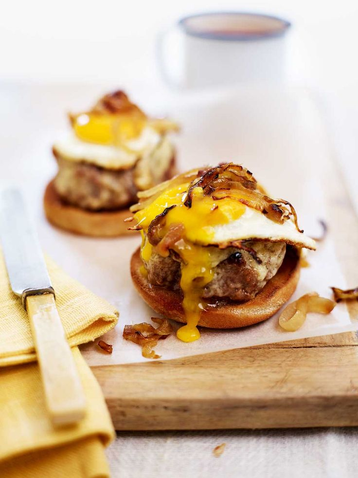 This breakfast sandwich recipe is our take on the McDonald's Egg McMuffin.