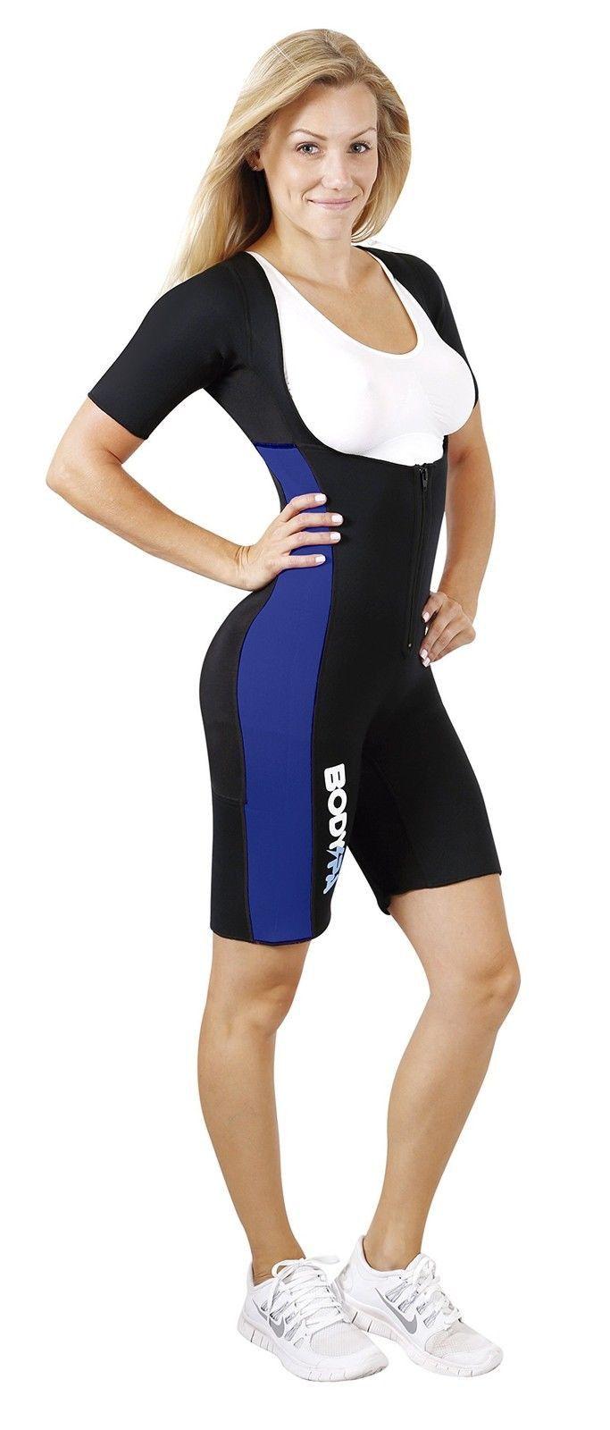 Body SPA Light Body Sauna Suit Neoprene Full Body Shaper GYM Sport Aerobic (B...