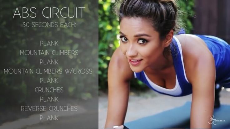 Shay Mitchell Workout routine - from her youtube Chanel #shaymitchell #PLL…