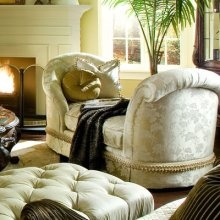 aico sweetheart chaise chateau beauvais the influence of french rococo design comes to life with the signature pierced carvings intricate