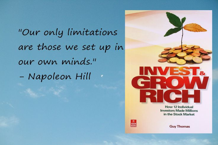 #InvestandGrowRich is a #economics book by #GuyThomas. The book profiles the #investing #strategies, #wisdom and #lifestyles of 12 highly #successful individual #investors who accumulated 1m or more in most #cases much more mainly from #stockmarket #investment.
